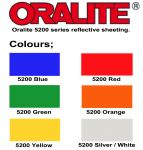 Oralite 5200 Reflective Sign Vinyl 3-4 YEAR